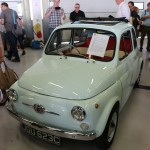 Fiat 500 electric conversion