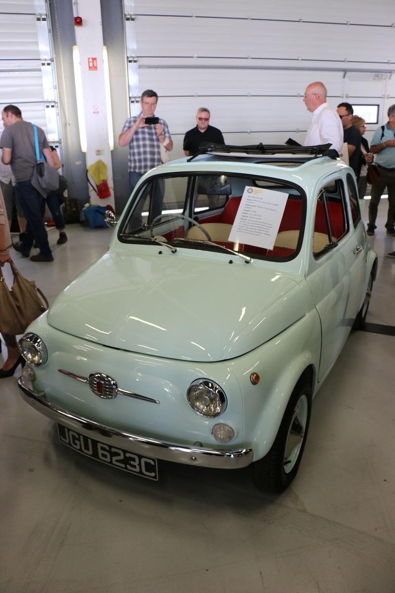Fiat 500 electric conversion