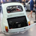 Fiat 500 electric conversion rear