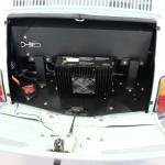 Fiat 500 electric conversion battery detail