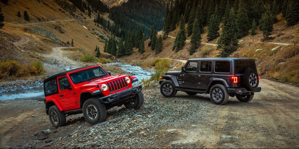 Jeep Wrangler family