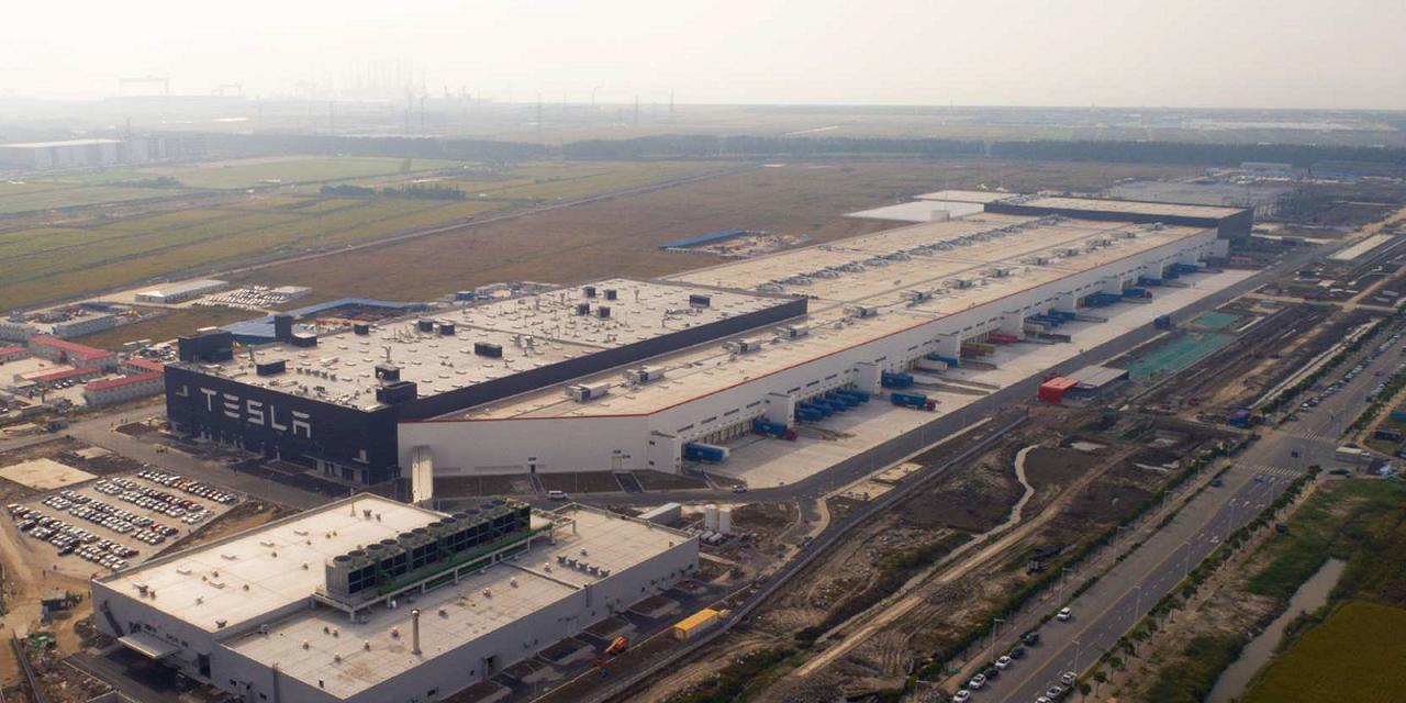 Tesla China Gigafactory 3