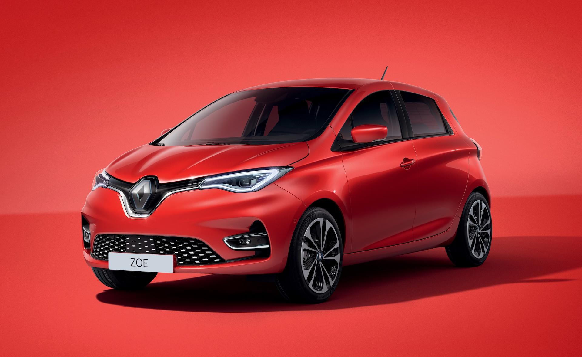 Renault Zoe red